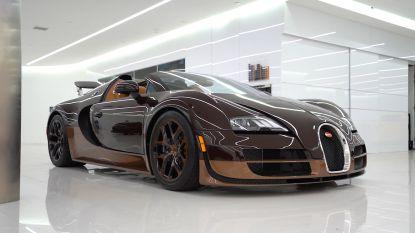 Even de olie verversen van de Bugatti Veyron? Da's dan 25.000 dollar