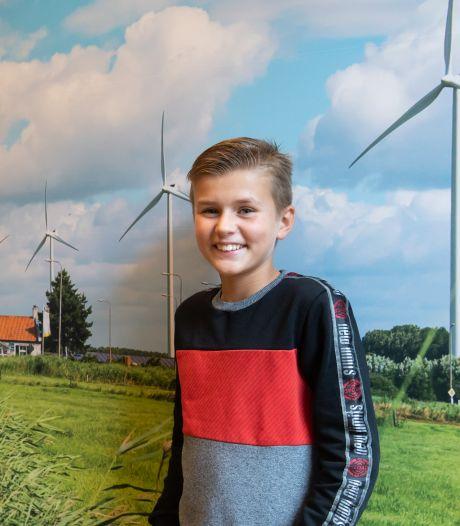Danu (10) mag nóg een jaar jeugdburgemeester van Etten-Leur zijn: 'Ik ga er het beste van maken'