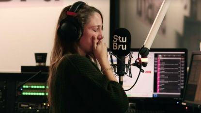 Hartverscheurend moment op StuBru: Wannes uit 'The Voice' schrijft lied voor overleden zoontje