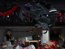 Tilburgse animator: zo ziet Trumps laatste werkdag eruit