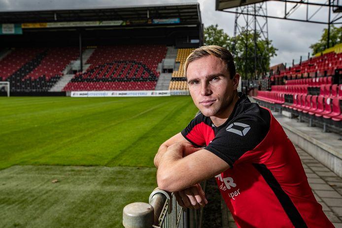 Martijn Berden staat de komende maanden met een knieblessure achter de hekken bij GA Eagles.