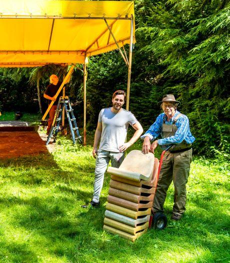 Poppentheater in de open lucht van Oisterwijk: gezellig én veilig