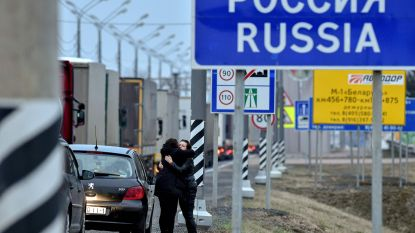 Honderden Azerbeidzjanen zitten vast aan Russische grens
