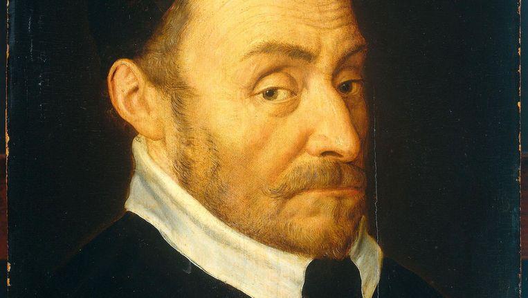 Willem van Oranje, in 1592 geschilderd door Dirck Barents Beeld Rijksmuseum
