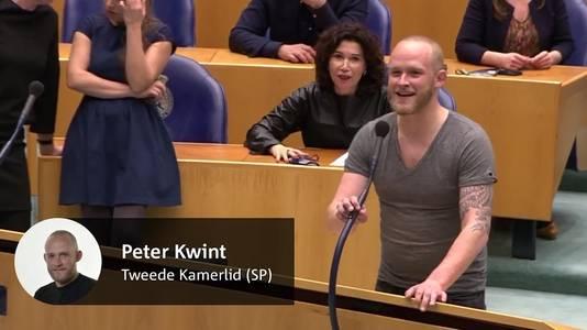 Peter Kwint werd vanmiddag terechtgewezen door Kamervoorzitter Arib