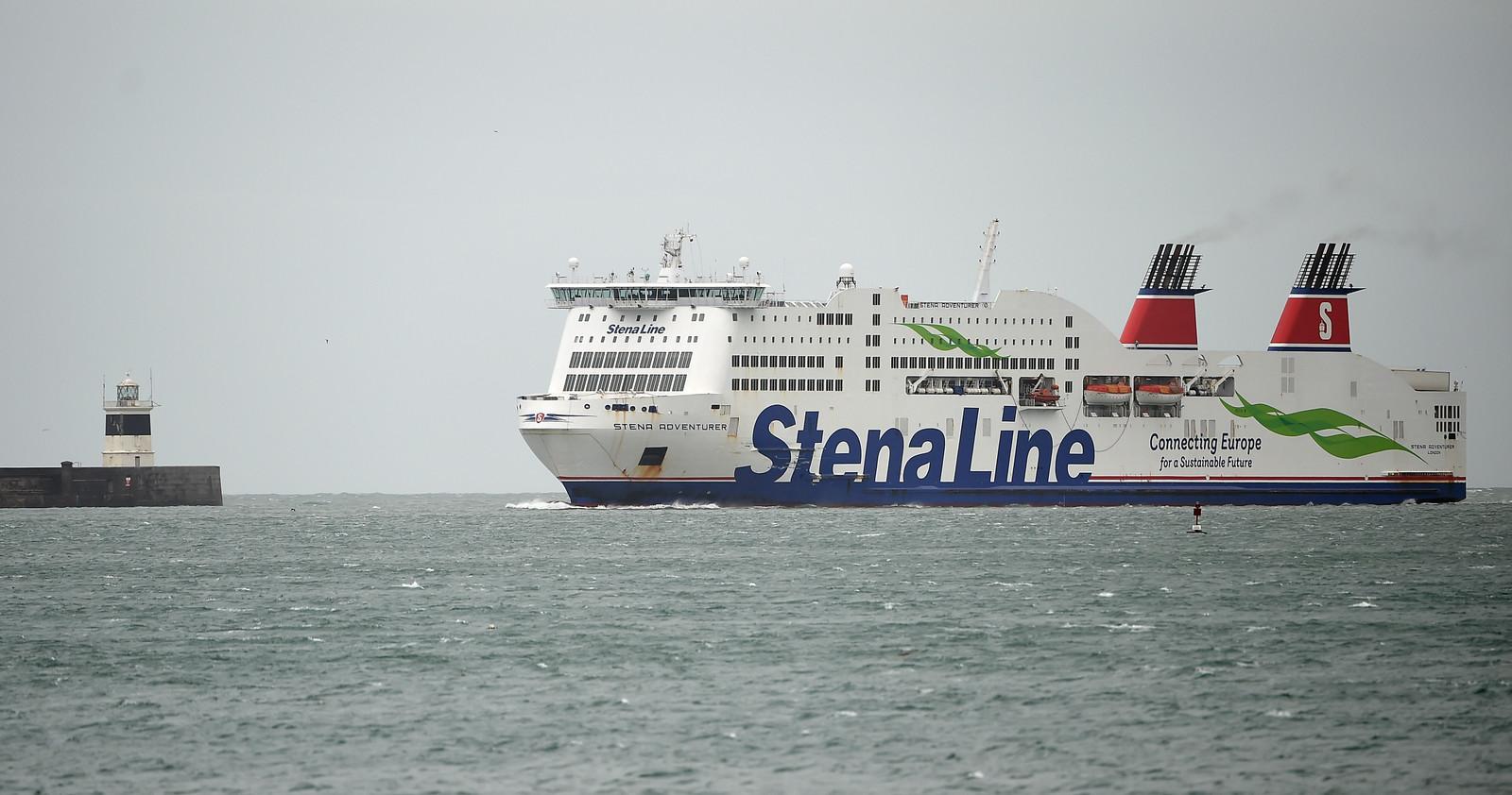Een veerboot van Stena Line.