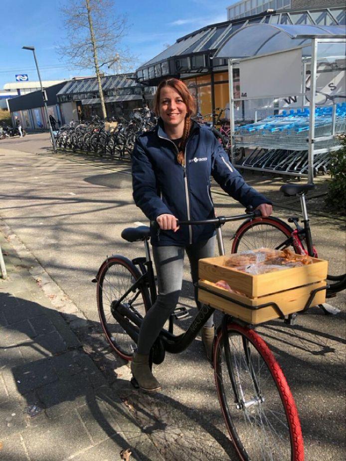 Opbouwwerker Judith Cuijpers van de LEVgroep in Helmond-Brouwhuis.