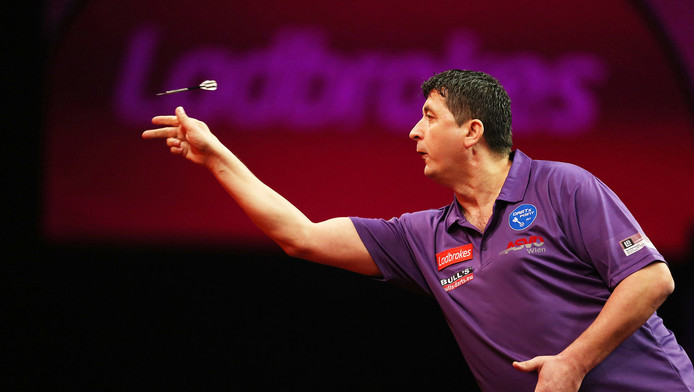 Noppert stunt op Grand Slam of Darts met zege op Suljovic ...