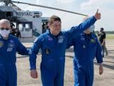 Astronauten SpaceX landen veilig in Golf van Mexico