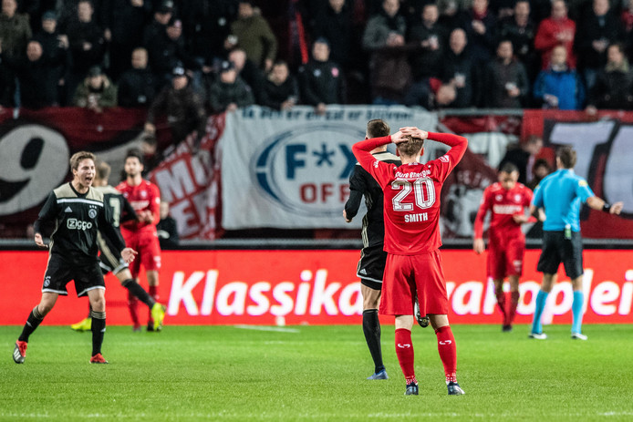 Teleurstelling bij FC Twente.