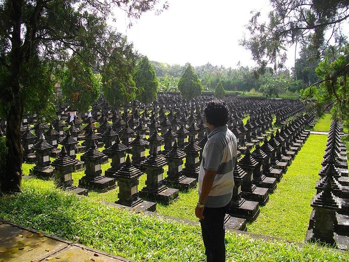 Het oorlogskerkhof Margarana op Bali