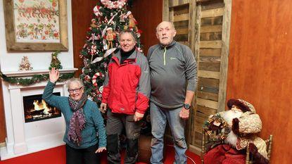 De Kerstman woont vanaf zaterdag in Kattendorp