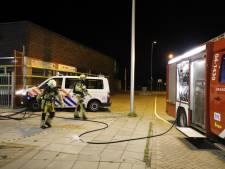 Brand in fietsenhok bij school Kampen kan snel geblust worden