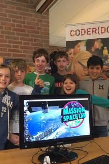 Kinderen uit Harmelen mogen softwareproef doen in de ruimte