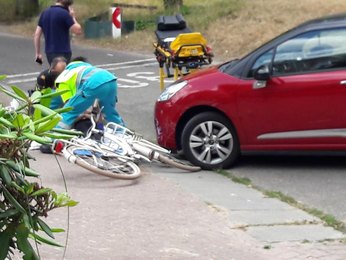 Meisje gewond bij aanrijding in Groesbeek.