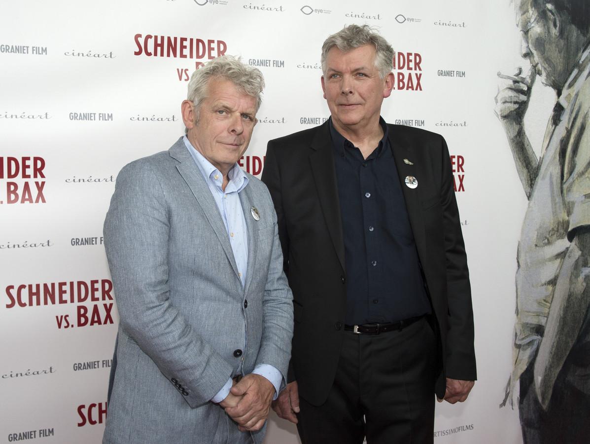 Alex van Warmerdam (links) met zijn broer Marc.