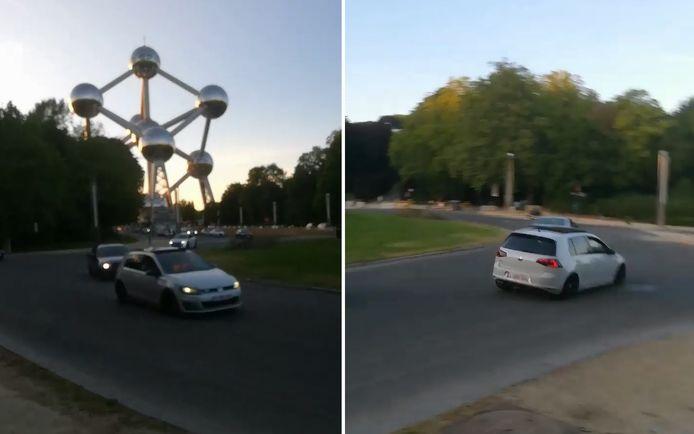 Les policiers étaient déjà parvenus à identifier un des quatre véhicules impliqués dans une course commise en semaine sur le plateau du Heysel et dont la vidéo a circulé sur internet