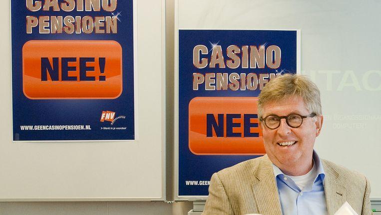 Voorzitter van FNV Bondgenoten, Henk van der Kolk. © ANP Beeld