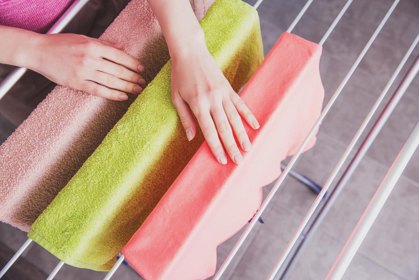 Waar zet je het wasrek neer als het straks minder goed weer is?