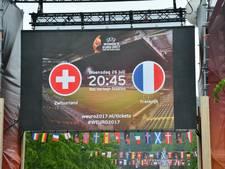Breda is klaar voor WEURO 2017: Fanzone Willemstraat geopend