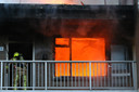 Woningbrand in Walenburg Den Haag