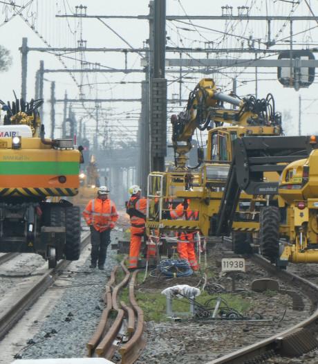 Duizenden reizigers bus in voor grote spoorklus Swietelsky bij Boxtel