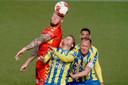RKC en Go Ahead Eagles hielden elkaar het eerste duel van de finale in evenwicht (0-0).