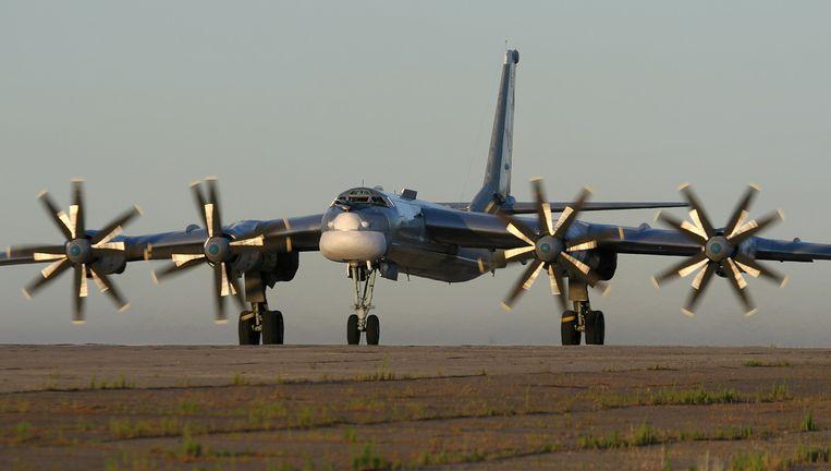 Een Russische Tupolev Tu-95. Beeld Wikimedia Commons