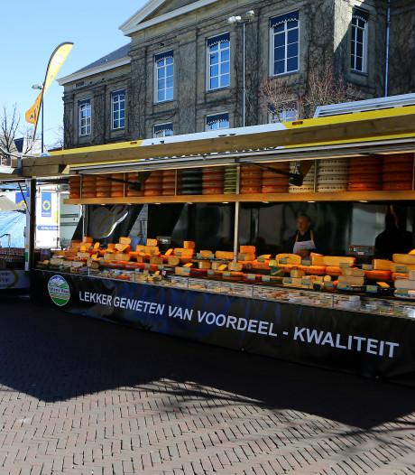 Weekmarkt in Gorinchem gaat maandag toch niet door