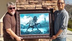 Ros Beiaard verovert Hollywood: Marvel-illustrator maakt uniek portret van Dendermondse trots