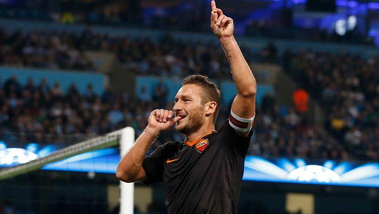 Francesco Totti Beeld reuters