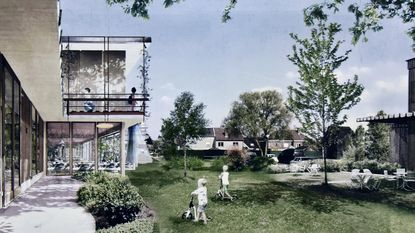 Gemeenteschool in Engels park klaar in 2020