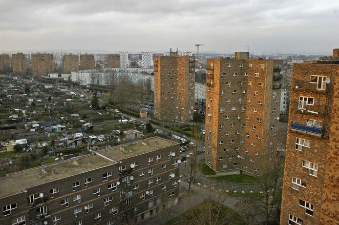 De Parijse voorstad Pantin woord twee moord-verdachten een deel van hun jeugd doorbrachten