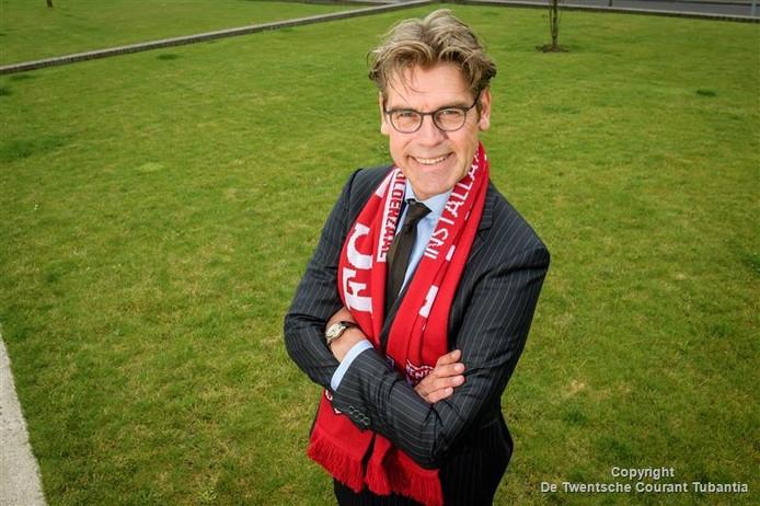 Koen Groenewold, nieuw in de Raad van Commissarissen van FC Twente.