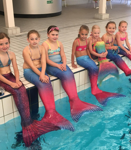Iedereen kan zeemeermin worden in Oisterwijk
