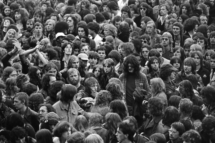 Het concert van the Rolling Stones in het Zuiderpark.