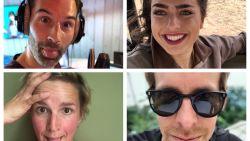 BV's tonen zich van hun beste kant voor 'Dag Van De Selfie'
