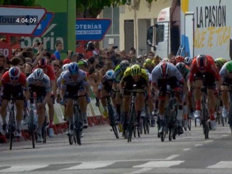 Dit was etappe #4 van Vuelta a España