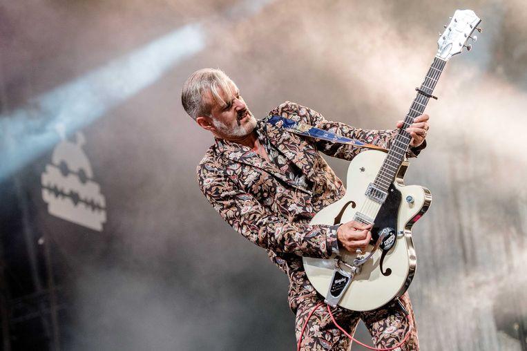Ruben Block, de frontman van Triggerfinger.