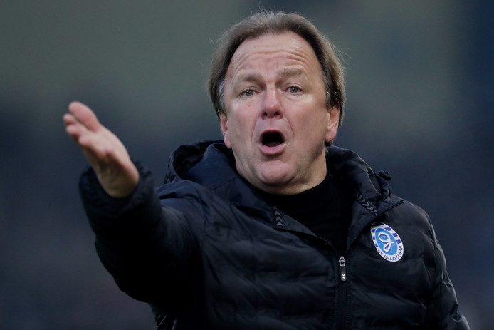 De Graafschap-trainer Mike Snoei.