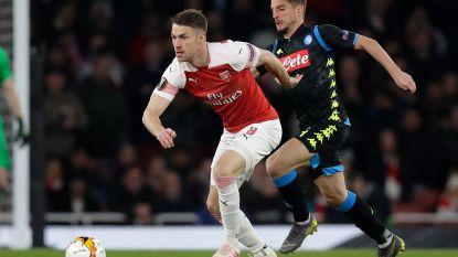 EUROPA LEAGUE. Arsenal klopt Mertens na geweldige eerste helft - Chelsea zwoegt maar wint - Opvolger van Ronaldo palmt iedereen in met hattrick