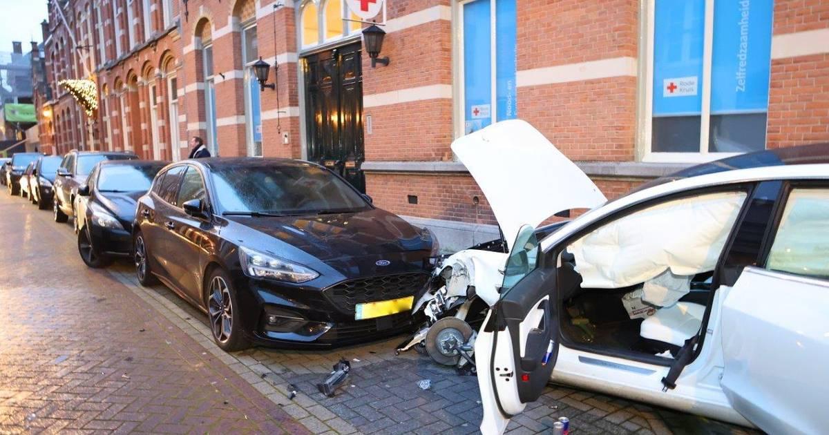 Ravage na ongeval in centrum Den Bosch.