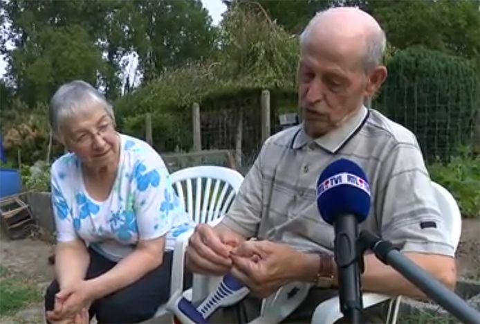 Emile a retrouvé son alliance, 59 ans après sa perte.