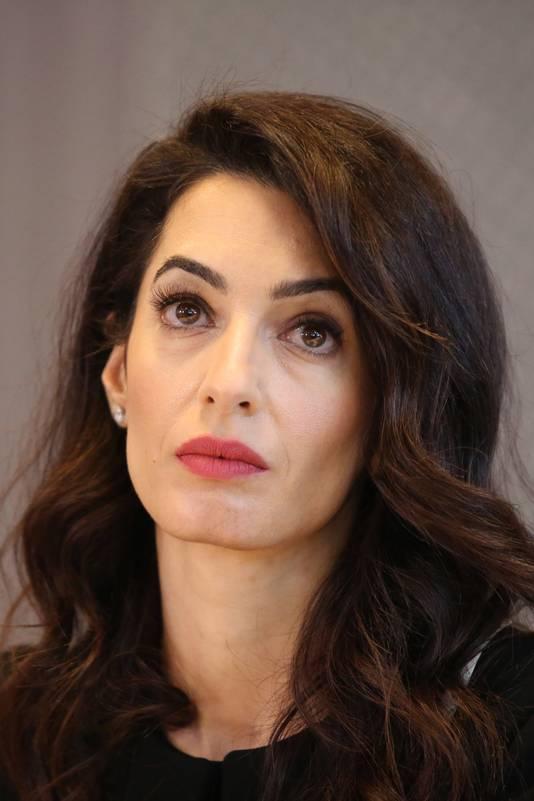 De Libanees-Britse advocate Amal Clooney.