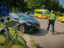 Fietser gewond na botsing met auto in Hoog-Keppel