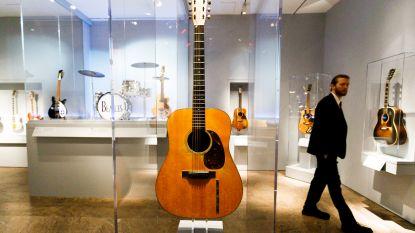Iconische gitaar van Elvis Presley gaat onder de hamer
