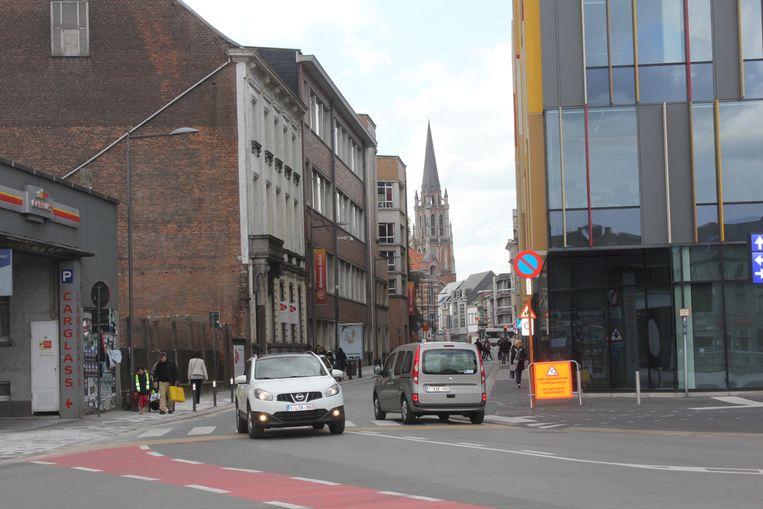 De Vaartstraat in Aalst maakt deel uit van de Wallenring.