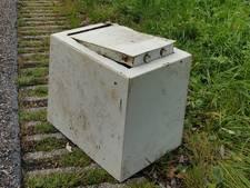 Mysterieuze kluis aangetroffen in maisveld in Holten