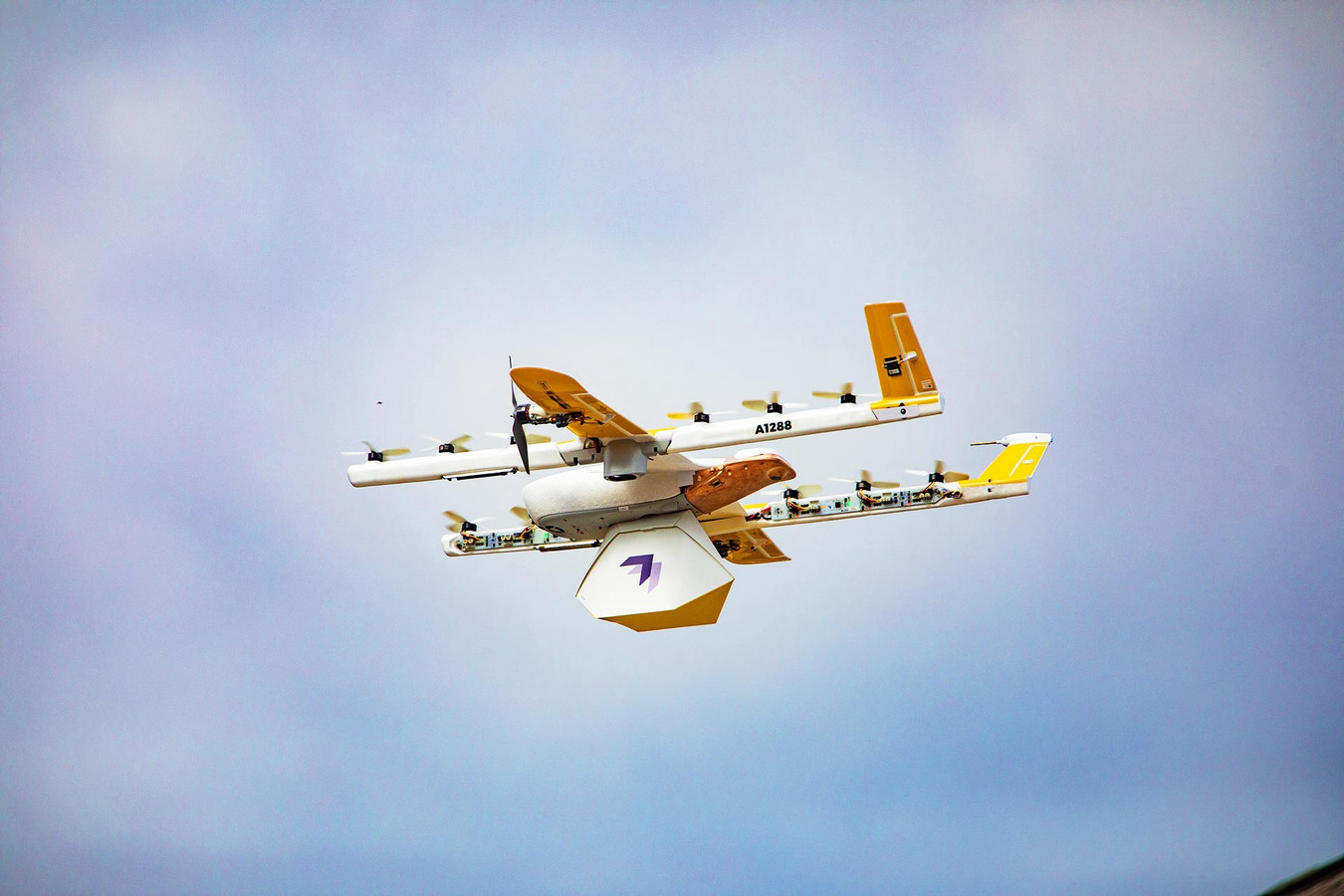De eerste commerciële droneservice ter wereld is operationeel