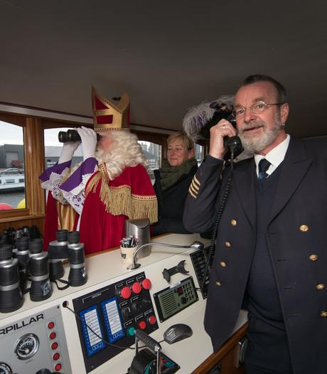 Gerrit loodst Sint voor laatste keer naar Kampen